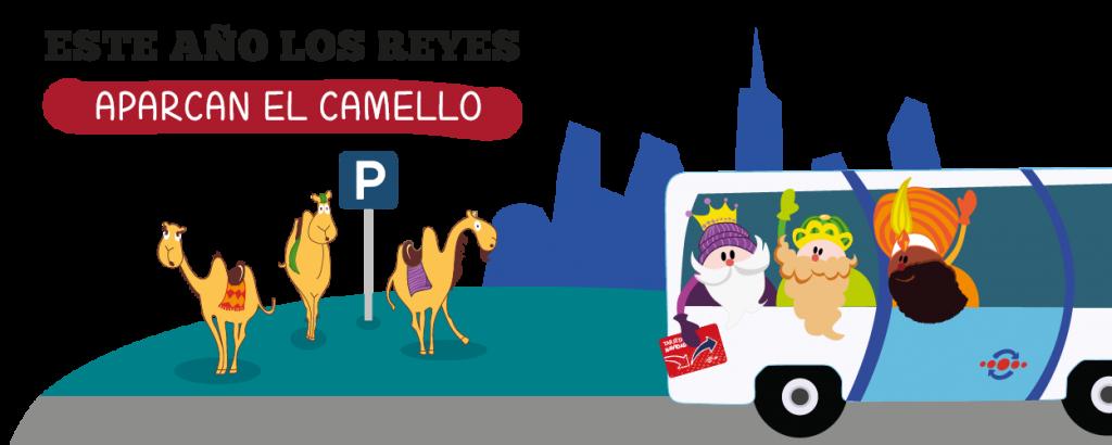 Presentación Este año los Reyes aparcan el camello EMT - SOYTUTIPO