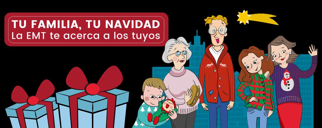 Presentación Campaña Tu familia, tu Navidad EMT - SOYTUTIPO