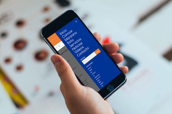 Detalle de web de Manzana Rota en iPhone - SOYTUTIPO