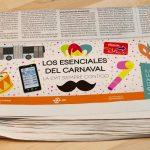 Periódico Campaña Los Esenciales del Carnaval EMT - SOYTUTIPO