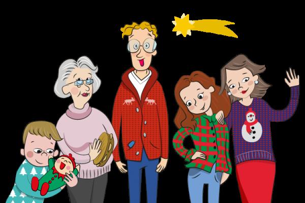 Familia Campaña Tu familia, tu navidad EMT - SOYTUTIPO