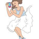Ilustración móvil en la cama - EMT NFC - SOYTUTIPO