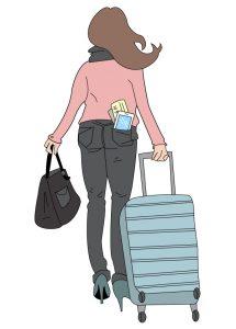 Ilustración maleta - EMT NFC - SOYTUTIPO