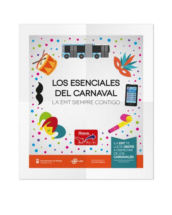 Creatividad principal- Campaña Carnaval EMT-SOYTUTIPO