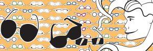 Diseño vinilo gafas de sol - Multiópticas GrupoKristal Feria Málaga - SOYTUTIPO