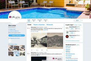 Captura de twitter de Villa Lorena - SOYTUTIPO