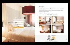 Captura de la web de Villa Lorena diseñado por SOYTUTIPO