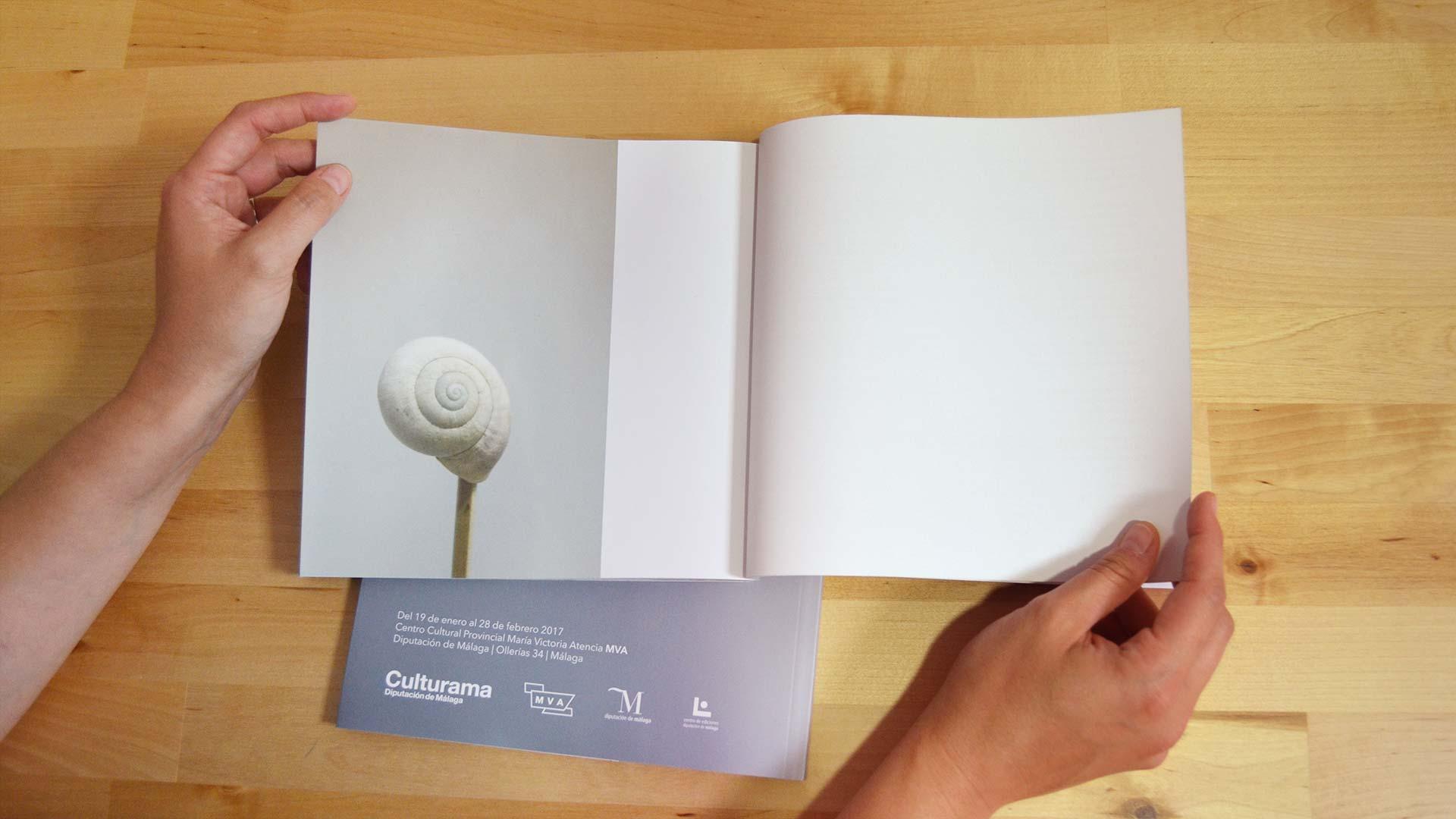 Páginas del catálogo de exposición ``En torno al paisaje`` - SOYTUTIPO