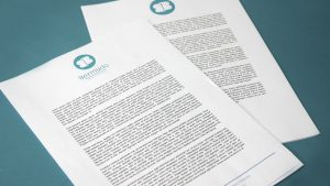 Hoja de carta de Bermudo Asesores - SOYTUTIPO