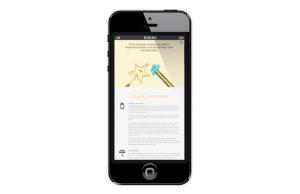 Web de Escuela Infantil Gibralfaro en móviles - SOYTUTIPO