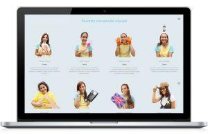 Web de Escuela Infantil Gibralfaro en pantallas - SOYTUTIPO
