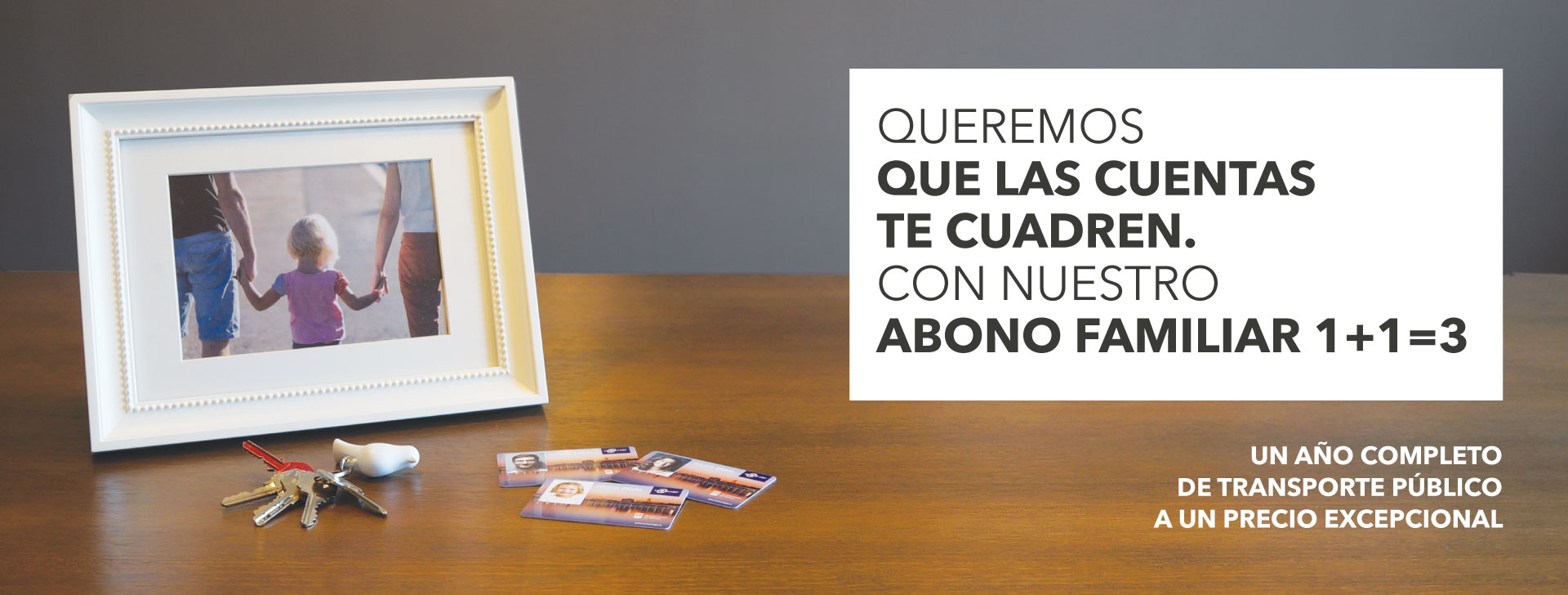 Banner web de la campaña de abono familiar para la EMT de SOYTUTIPO