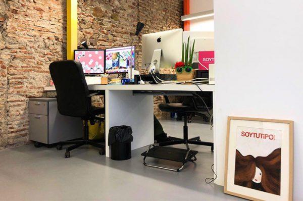 Puesto de coworking - SOYTUTIPO