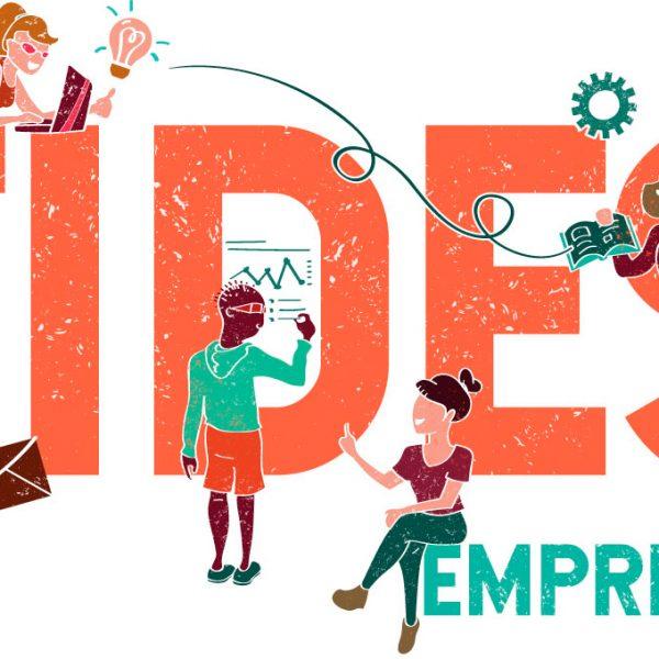 Marca de FIDES EMPRENDE - branding educiativo diseñado por SOYTUTIPO