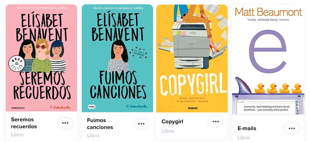 libros con protagonista publicista