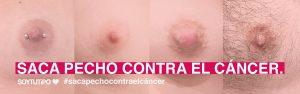 Saca pecho contra el cáncer de mama - Campaña de concienciación y visibilidad SOYTUTIPO