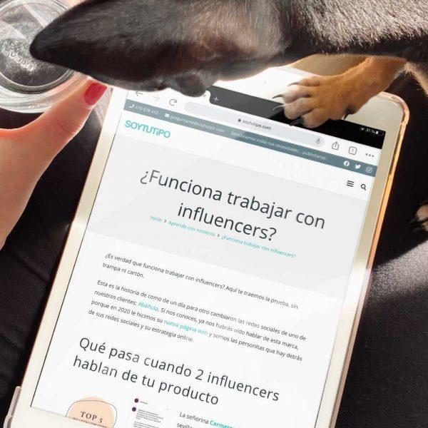blog ¿funciona trabajar con influencers? SOYTUTIPO